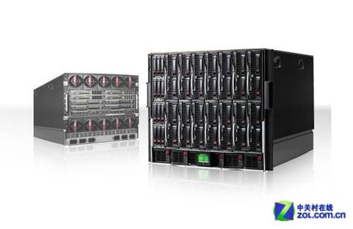HP升级BladeSystem架构 提升虚拟化性能
